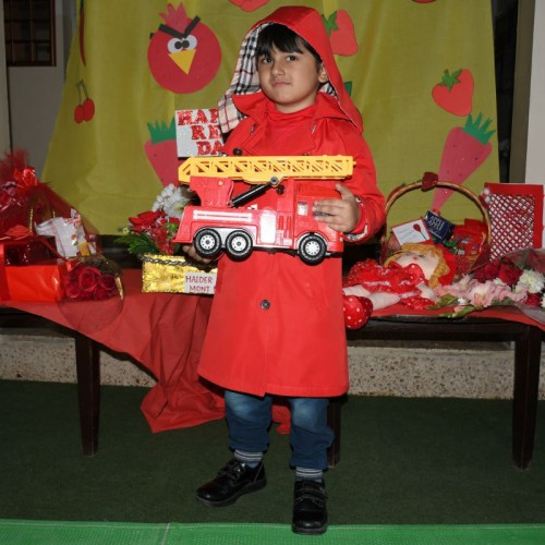 Red Color Day Celeberation